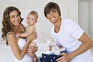 Mit VitaPlusSpende fürs eigene Kind vorsorgen und spenden.